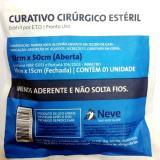 Compressa para Curativo Cirúrgico 15x30 - Neve