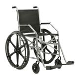 Cadeira De Rodas Simples 1009  Pneu Inflavel - Jaguaribe