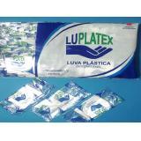 Luva Plástica Estéril Com 100 Unidades - Luplatex