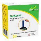 Kit Com 02 Frascos De Fita Para Teste De Glicose - Code Free - Bioland