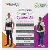 Colete Putti Comfort Air Estreito- Hidrolight
