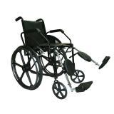 (Locação) Cadeira de rodas 1016 com Elevação de Pernas