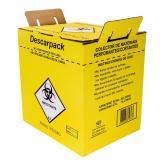 Coletor De Perfuro Cortante 20l - Descarpack