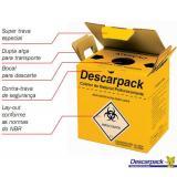 Coletor de Perfuro Cortante 13L - Descarpack